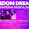 FM May 23: Freedom Dreams / Voices That Change The World